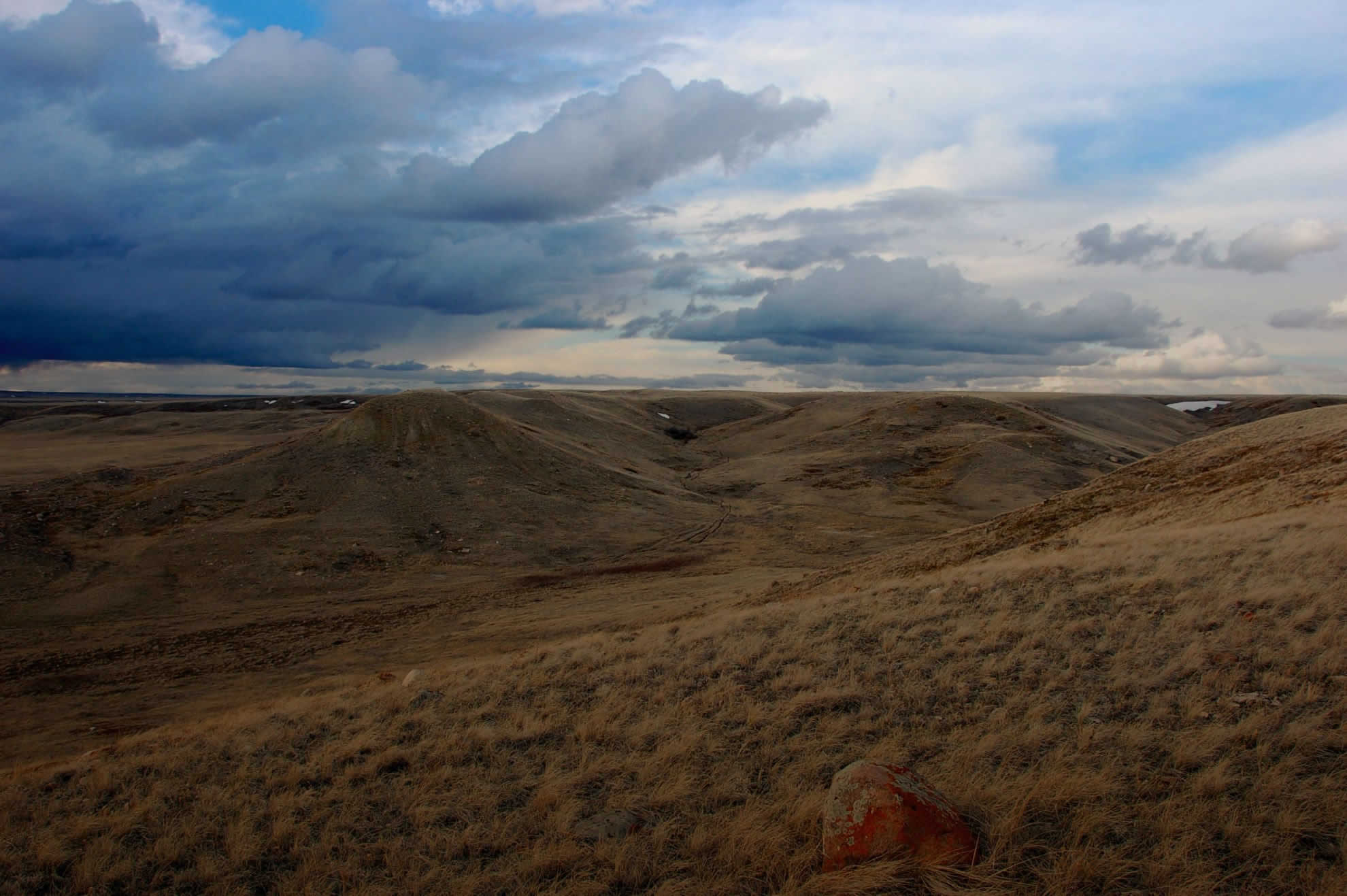 Landscape View of Grasslands National Park
