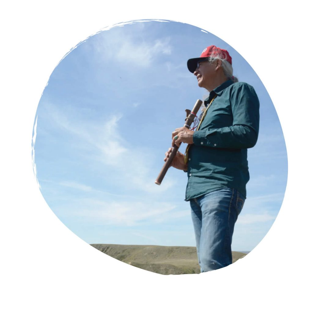 Cultural experiences of Grasslands National Park with Joseph Naytowhow